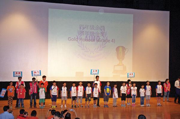 2012 AIMO亞洲國際數學奧林匹克公開賽,獲得五面金牌